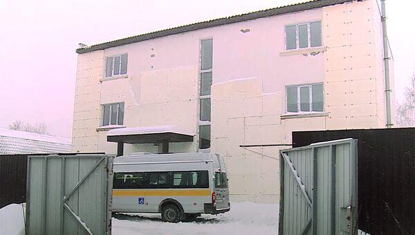 Здание пермского дома престарелых Мария. Архивное фото