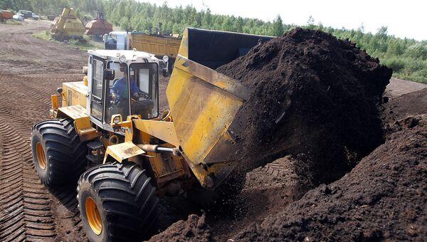 Минэкологии МО остановило незаконную добычу торфа в Сергиевом Посаде