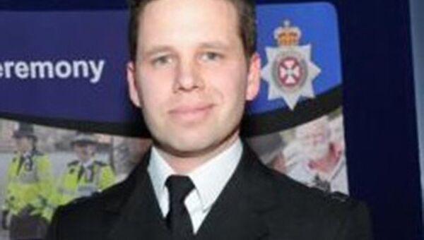 Полицейский Ник Бейли. Архивное фото