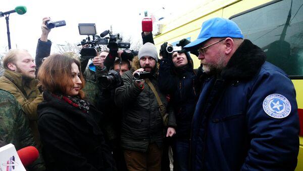 Руководитель Центра обмена военнопленными Офицерский корпус Владимир Рубан. Архивное фото