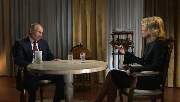 Путин рассказал, зачем на Россию накладывают санкции