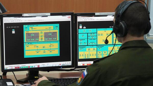 Во время боевого дежурства на радиолокационной станции Воронеж-ДМ