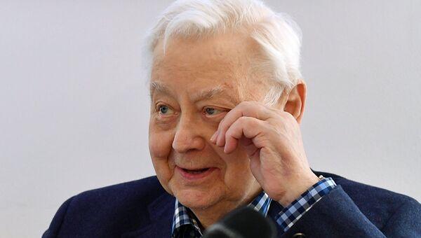 Основатель и художественный руководитель театра Олег Табаков