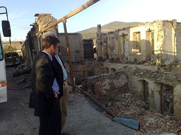 Визит миссии ПАСЕ в Южную Осетию