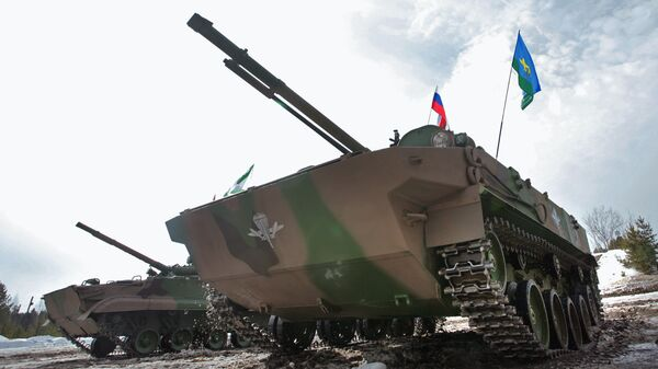 Боевая машина десанта БМД-4М. Архивное фото