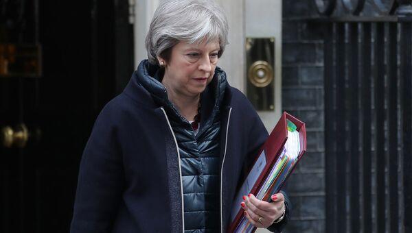 Премьер-министр Великобритании Тереза Мэй. Архивное фото