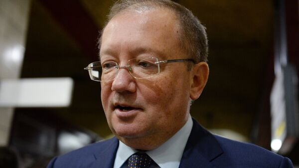 Чрезвычайный и полномочный посол РФ в Великобритании Александр Яковенко