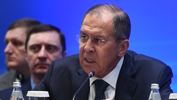 Министр иностранных дел РФ Сергей Лавров. 16 марта 2018