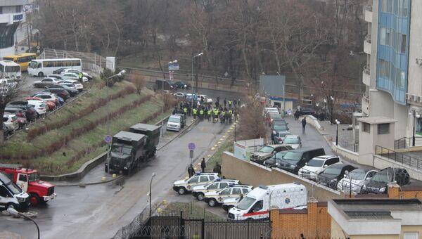 Ситуация возле Генерального консульства Российской Федерации в Одессе. 18 марта 2018
