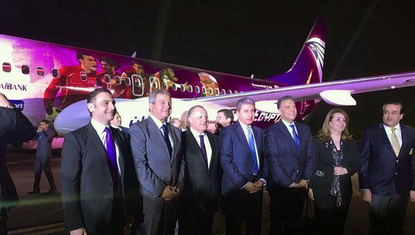 Египетский национальный авиаперевозчик EgyptAir