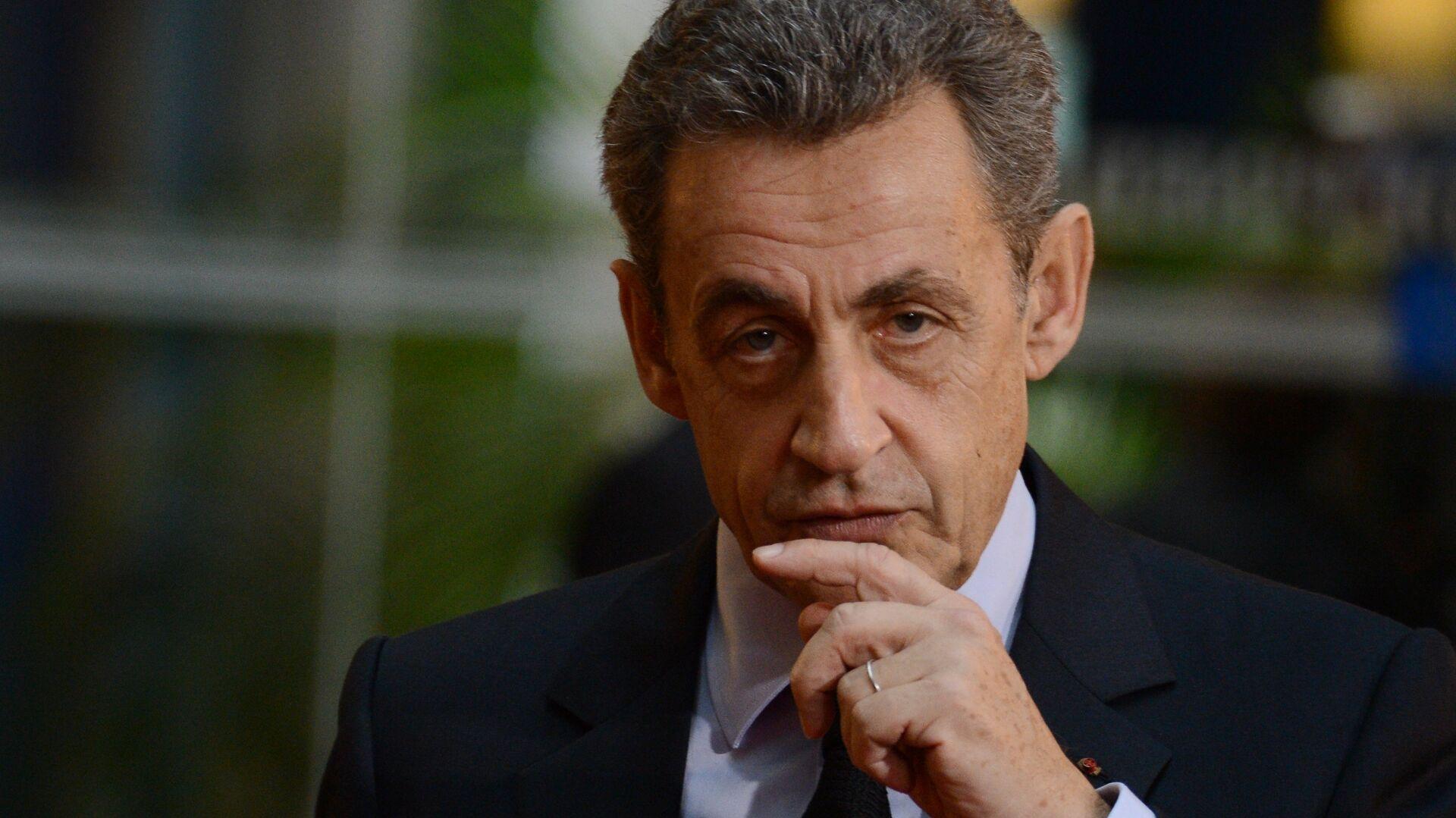 Экс-президент Франции Николя Саркози  - РИА Новости, 1920, 23.11.2020