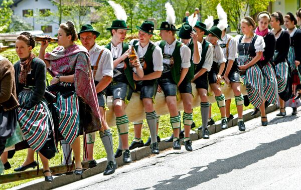 Майский день в Германии