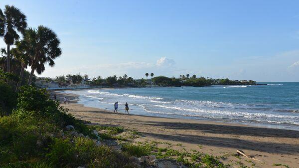 Пляж на Ямайке