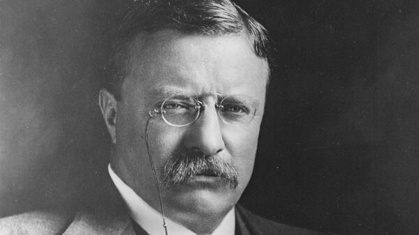 26-й президент США Теодор Рузвельт