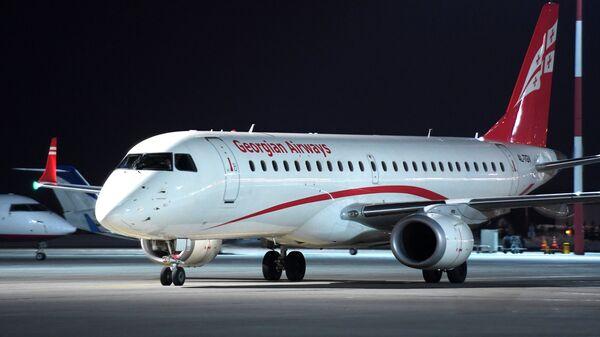 Самолет авиакомпании Georgian Airways. Архивное фото