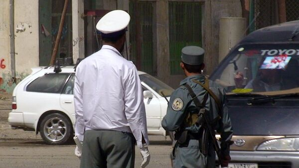 Полиция и автоинспекция в Кабуле. Архивное фото