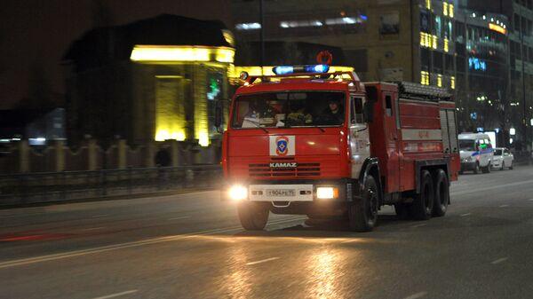 Автомобиль пожарной охраны МЧС РФ