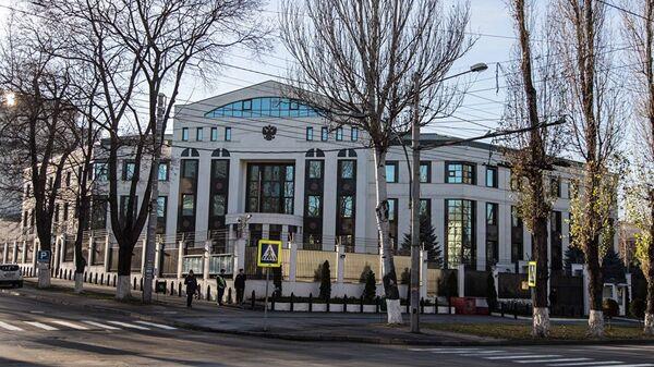 Здание посольства РФ в Кишиневе