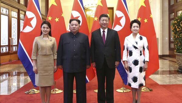 Визит Ким Чен Ына в Китай. 28 марта 2018 года