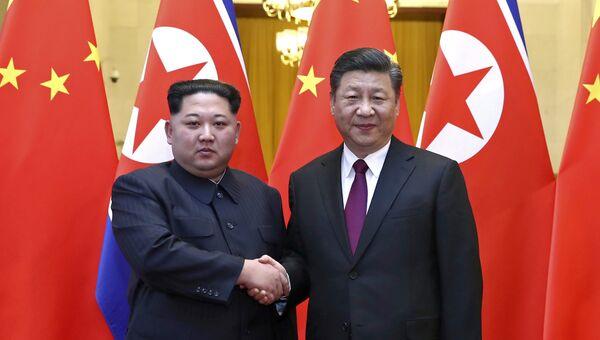 Ким Чен Ын в Китае. 28 марта 2018 года