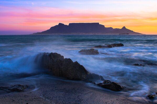 Вид на Столовую гору, Кейптаун, ЮАР