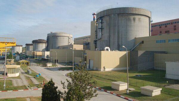 Атомная электростанция в румынском Чернаводэ