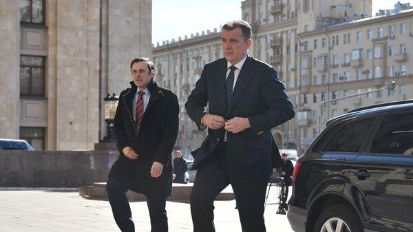 Посол Австралии в России Петер Томаш Теш