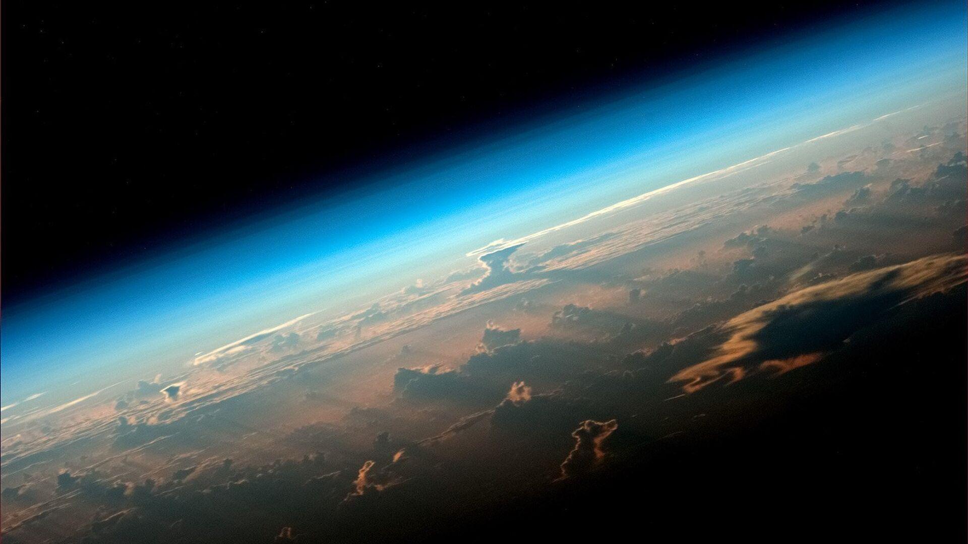 Вид на Землю с борта МКС снятый космонавтом Роскосмоса Олегом Артемьевым - РИА Новости, 1920, 01.03.2021
