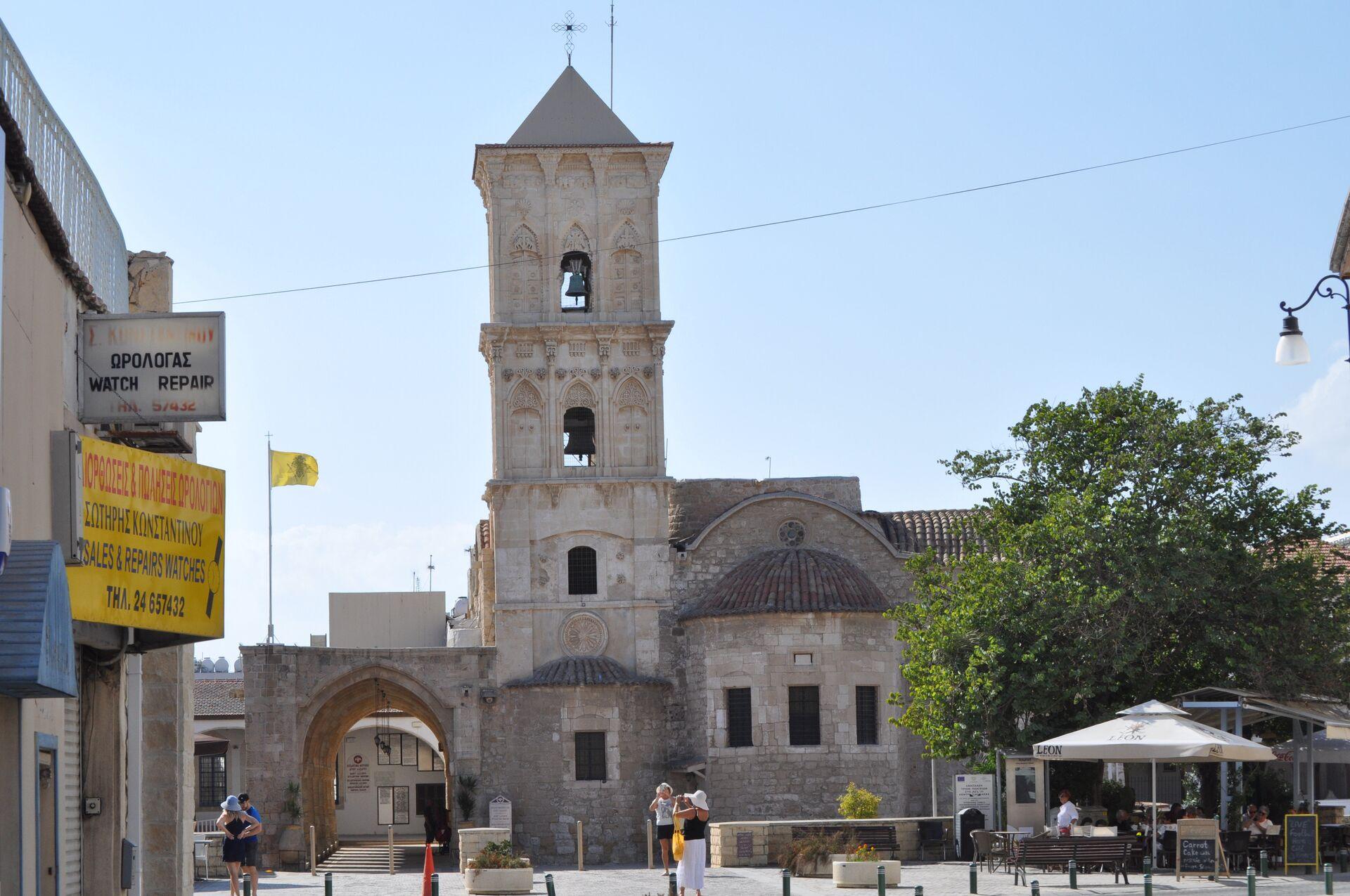 Церковь святого Лазаря в Ларнаке, Республика Кипр - РИА Новости, 1920, 25.11.2020