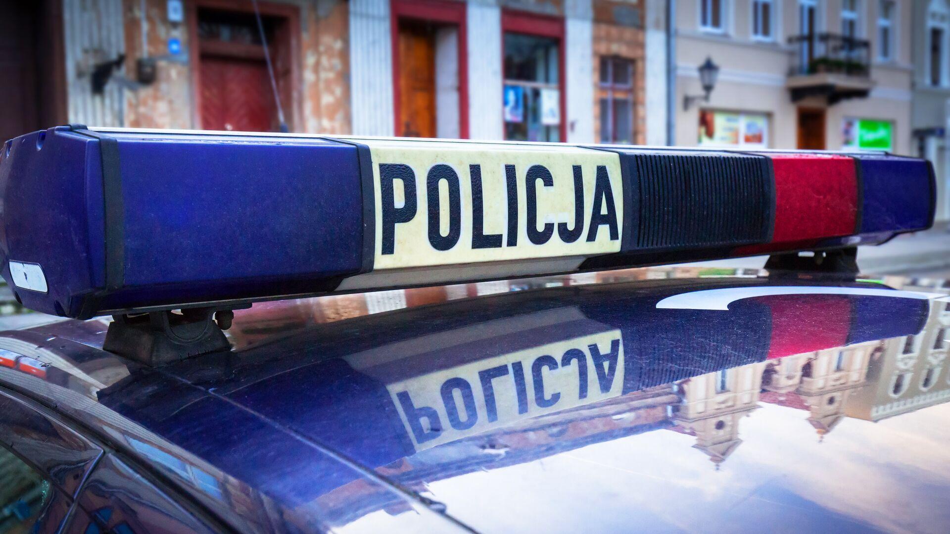 Польская полиция - РИА Новости, 1920, 11.07.2021