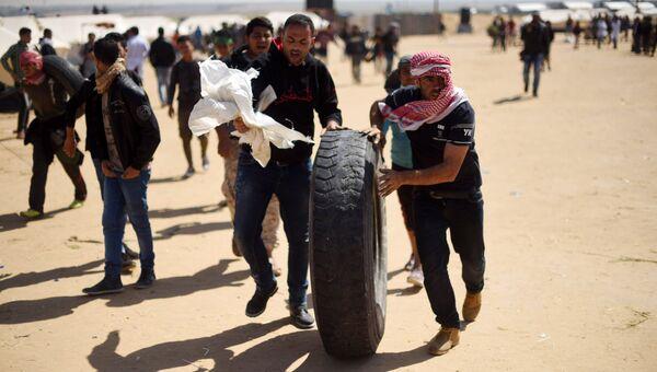 Столкновения на границе сектора Газа и Израиля. Архивное фото