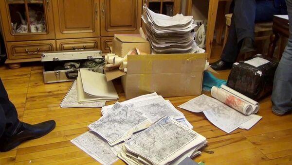 ФСБ РФ пресекла деятельность по незаконному сбору секретных топографических материалов военного назначения