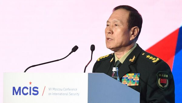 Министр обороны КНР, генерал-полковник Вэй Фэнхэ. Архивное фото