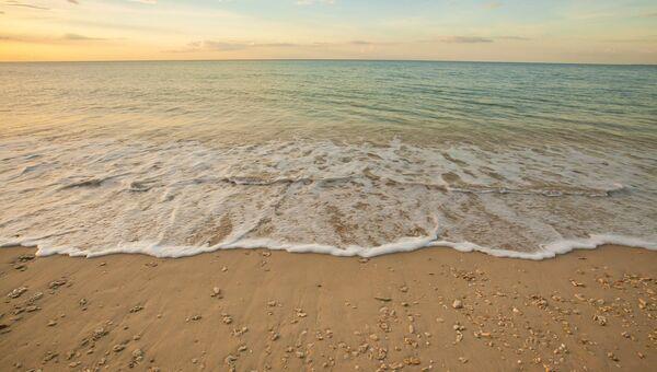 Вид на пляж в Таиланде. Архивное фото