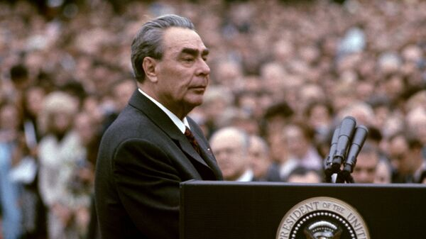 18 июня 1973 года по приглашению Президента США Р. Никсона с официальным визитом в Вашингтон прибыл генеральный секретарь ЦК КПСС, член Президиума Верховного Совета СССР Л.И. Брежнев