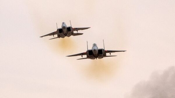 Истребители F-15 ВВС Израиля. Архивное фото
