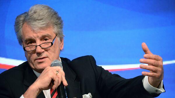 Ющенко заявил, что Украина переживает тяжелый экономический кризис
