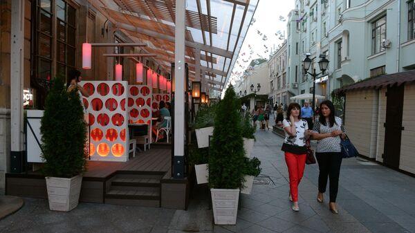 Летние веранды ресторанов и кафе Москвы