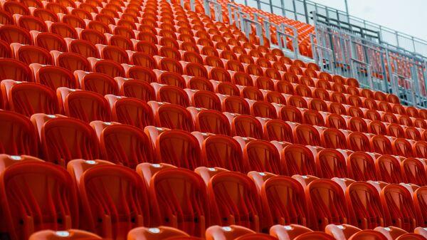 Трибуны стадиона Екатеринбург Арена