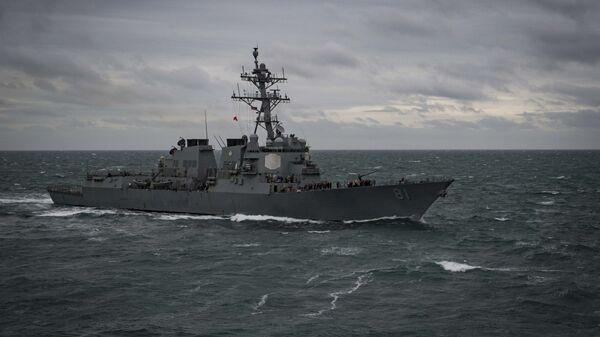 Эсминец ВМС США Уинстон Черчилль