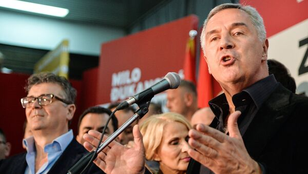 Лидер Демократической партии социалистов Черногории Мило Джуканович. Архивное фото