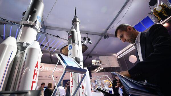 Макеты ракет-носителей Ангара