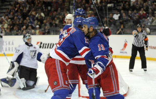 Матч НХЛ Нью-Йорк Рейнджерс - Тампа Бэй Лайтнинг