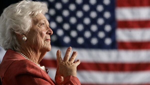Барбара Буш. Архивное фото