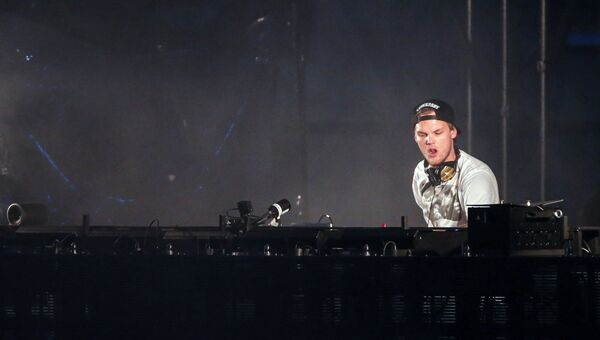 DJ Avicii. Архивное фото