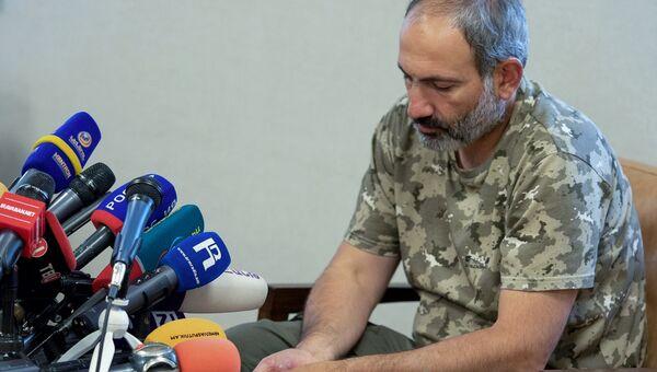 Лидер протестного движения в Армении Никол Пашинян. Архивное фото