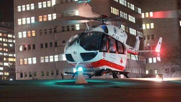 Вертолет Московского авиационного центра. Архивное фото