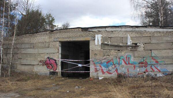 Заброшенное здание в Семеновском районе Нижегородской области, в котором обнаружили погибших детей