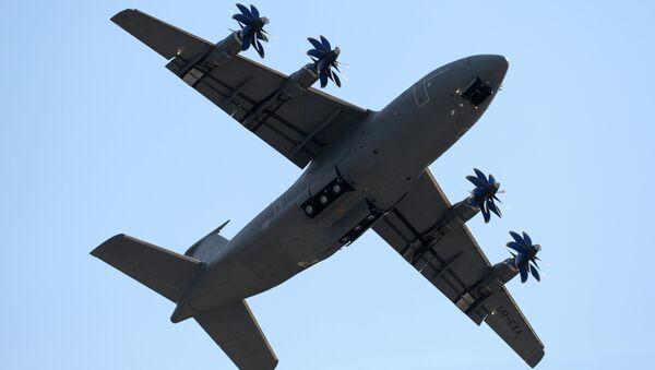 Среднемагистральный грузовой самолет Ан-70. Архивное фото