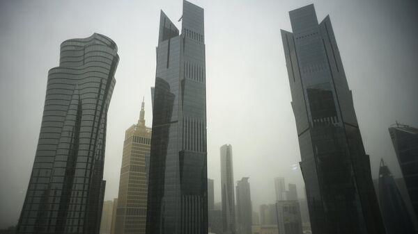 Небоскребы в Дохе